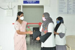 """Inauguration of """"FEVER OPD"""""""